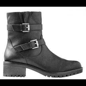 Joe Fresh Faux Leather Moto Boot